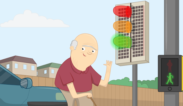 Traffic Light simulator using only Html and CSS