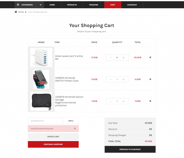 ecommerce website 3