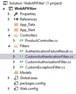 custom authentication filter
