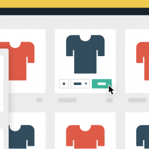 Bootstrap - Product Shopping CSS Hover Effect
