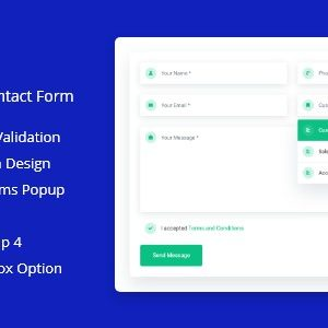 Modern PHP Ajax Contact Form 4